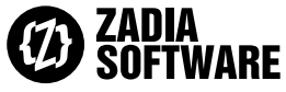 Image Zadia Corporate Software, a Z between two brackets
